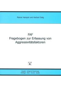 Fragebogen zur Erfassung von Aggressivitätsfaktoren