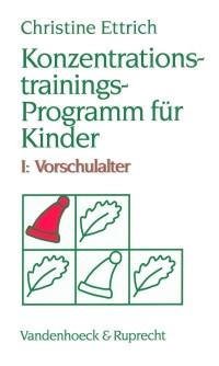 Konzentrations-Trainings-Programm für Kinder