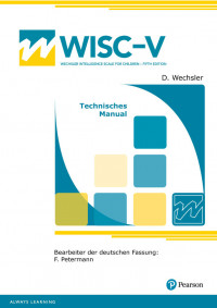 Wechsler Intelligence Scale for Children – Fifth Edition