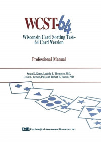 The Wisconsin Card Sorting Test® - 64 Card Version