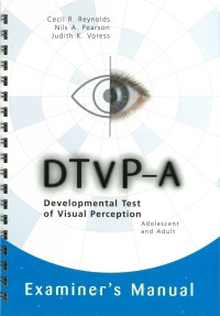 Developmental Test of Visual Perception - Adolescent and Adult
