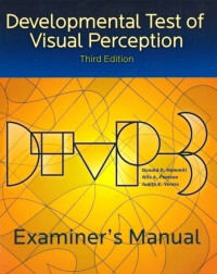 Developmental Test of Visual Perception – Third Edition