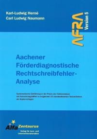 Aachener Förderdiagnostische Rechtschreibfehler-Analyse