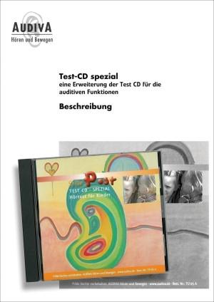 Audio-CD, Beschreibung und 2 Testbogen
