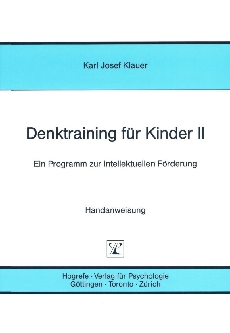 Trainingsprogramm komplett bestehend aus: Handanweisung, Satz Tafeln und Schachtel
