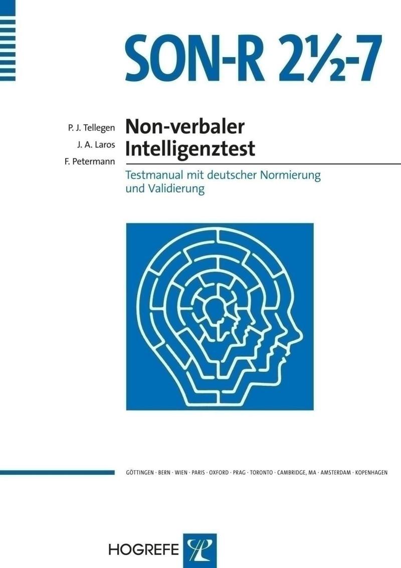 Testkoffer mit Testmaterial, inkl. Auswertungsprogramm (ohne Manual, Instruktionsheft, Auswertungsbogen und Zeichenmuster)