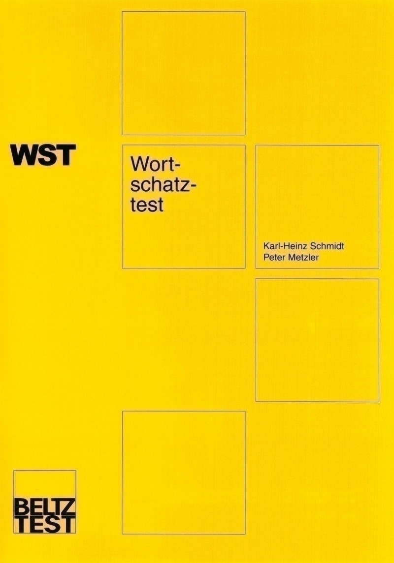 Test komplett bestehend aus: Manual, Fragebogen, Schablonensatz und Mappe