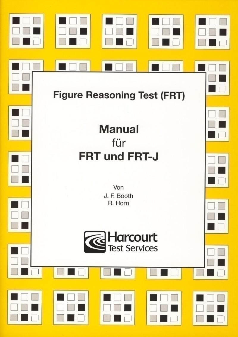 Test komplett bestehend aus: Manual, FRT Testheft A und B, FRT-J Testheft Kurzform A und B, je 50 Antwortbogen FRT A und B, je 50 Antwortbogen FRT-J A und B