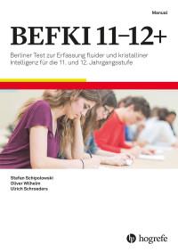 Berliner Test zur Erfassung fluider und kristalliner Intelligenz für die 11. und 12. Jahrgangsstufe