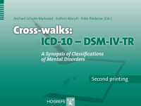 Cross-walks ICD-10 – DSM-IV-TR