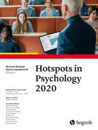 Hotspots in Psychology 2020