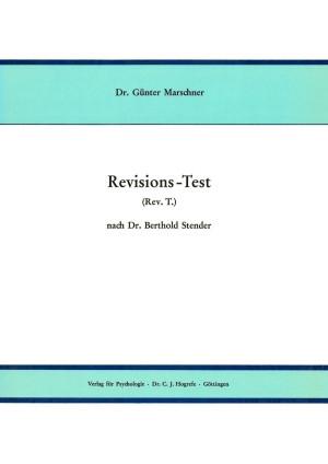 Test komplett bestehend aus: Handanweisung, Handanweisung Form S, Beiheft, je 10 Testbogen A + S, 20 Auswertungsbogen, Schablone A + S und Mappe