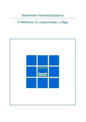 Test komplett bestehend aus: Handanweisung, 2 Testheften und Mappe