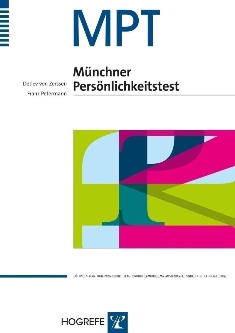 Test komplett bestehend aus: Manual, 10 Fragebogen Sb, 10 Fragebogen Fb-w, 10 Fragebogen Fb-m, Schablone, 10 Profilbogen und Box