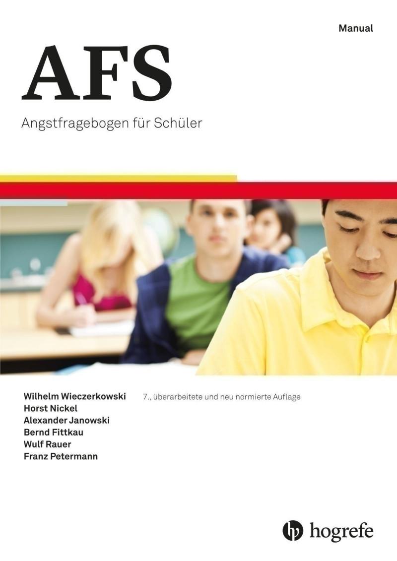 Test komplett bestehend aus: Manual, 25 Fragebogen, Schablone und Mappe