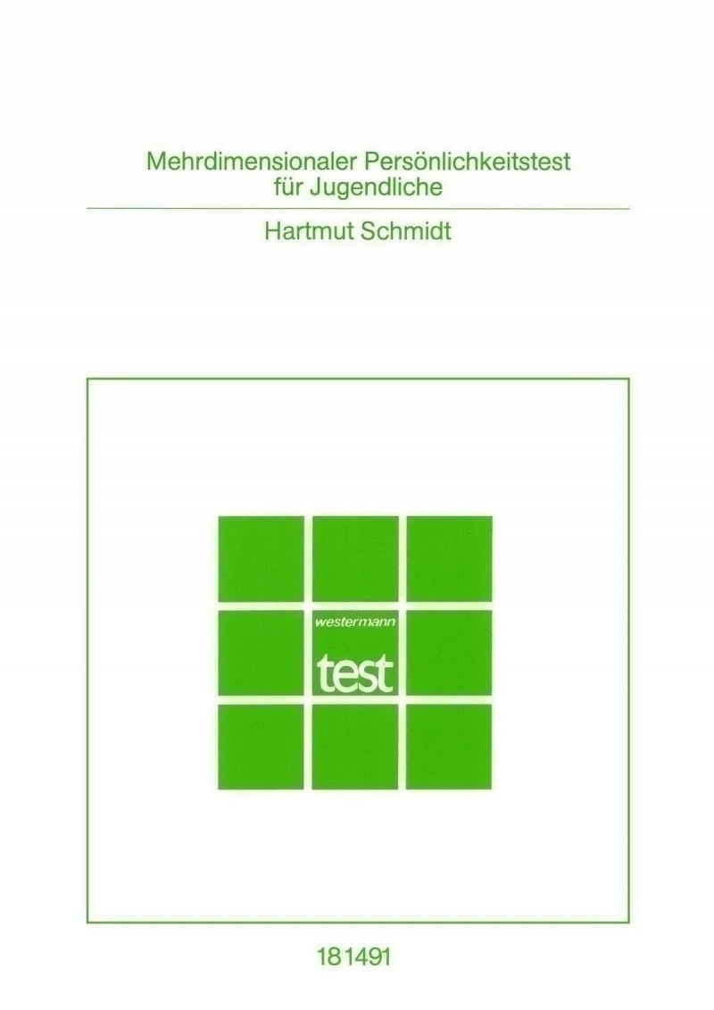 Test komplett bestehend aus: Handanweisung, Testheft, Antwortbogen, Profilbogen, Schablone und Mappe
