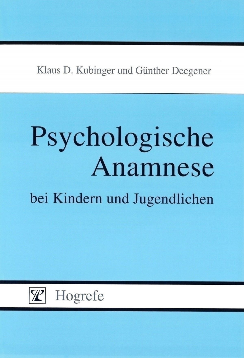 Handbuch (Psychologische Anamnese bei Kindern und Jugendlichen)