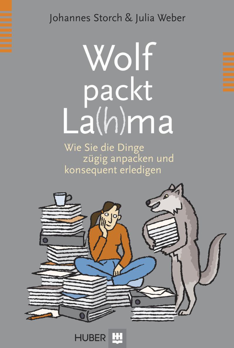 Wolf packt La(h)ma