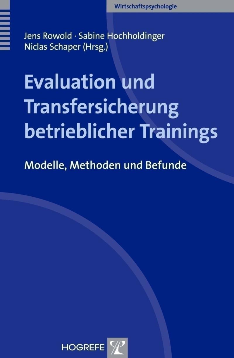 Evaluation und Transfersicherung betrieblicher Trainings