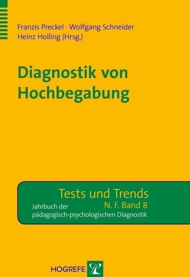 Diagnostik von Hochbegabung