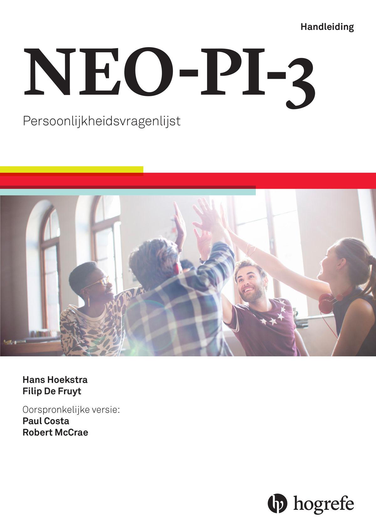 NEO-PI-3 startpakket (handleiding, 5 testboekjes, 50 antwoord- en 50 profielformulieren, 25 stijlgrafieken)
