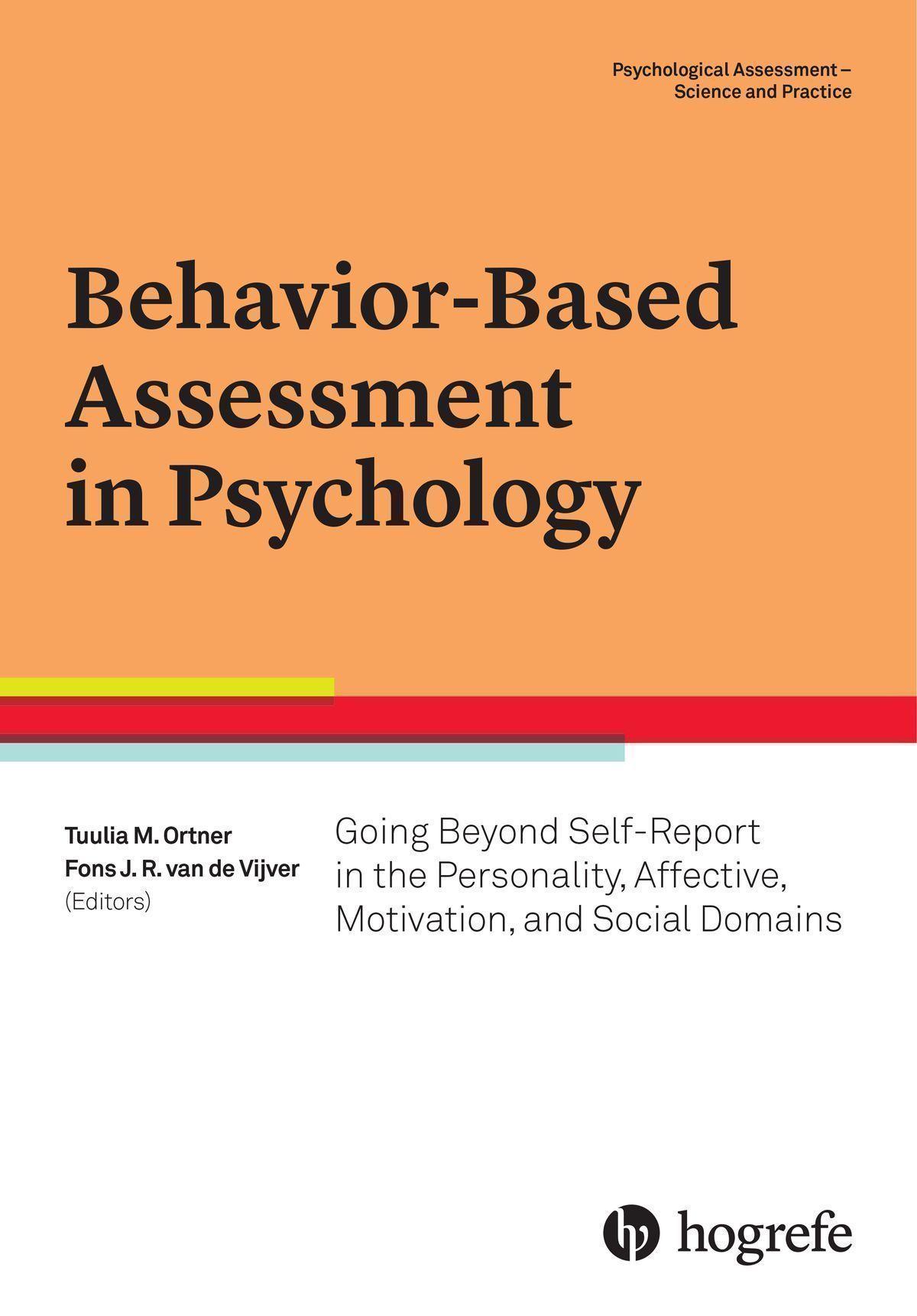 Behavior-Based Assessment in Psychology