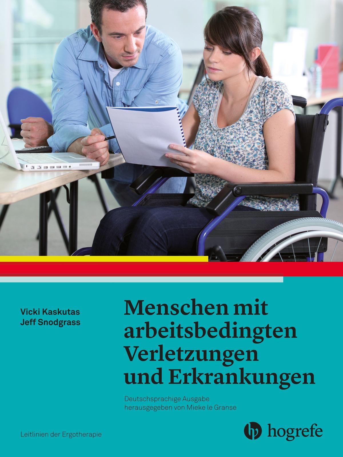 Menschen mit arbeitsbedingten Verletzungen und Erkrankungen