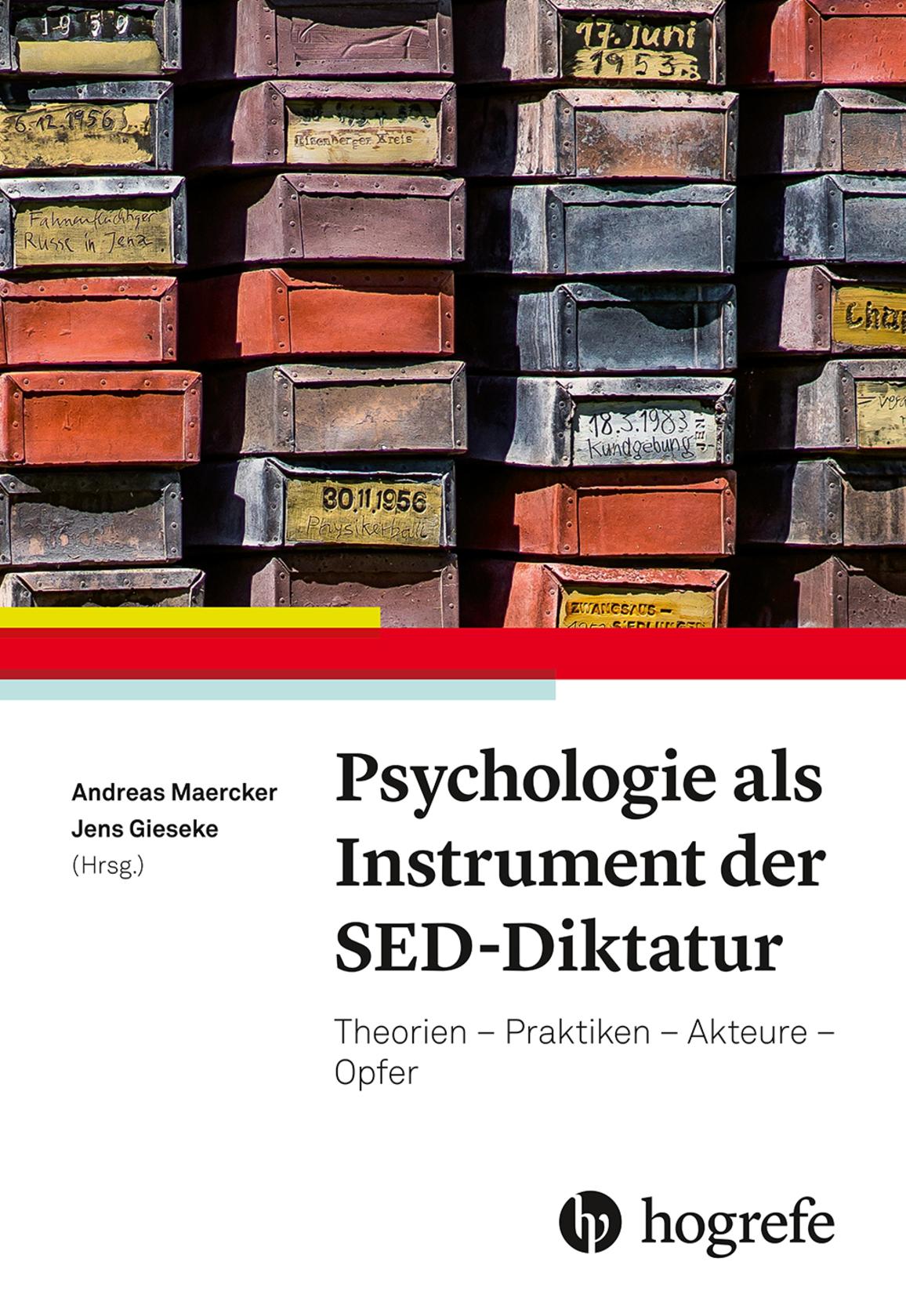 Psychologie als Instrument der SED-Diktatur