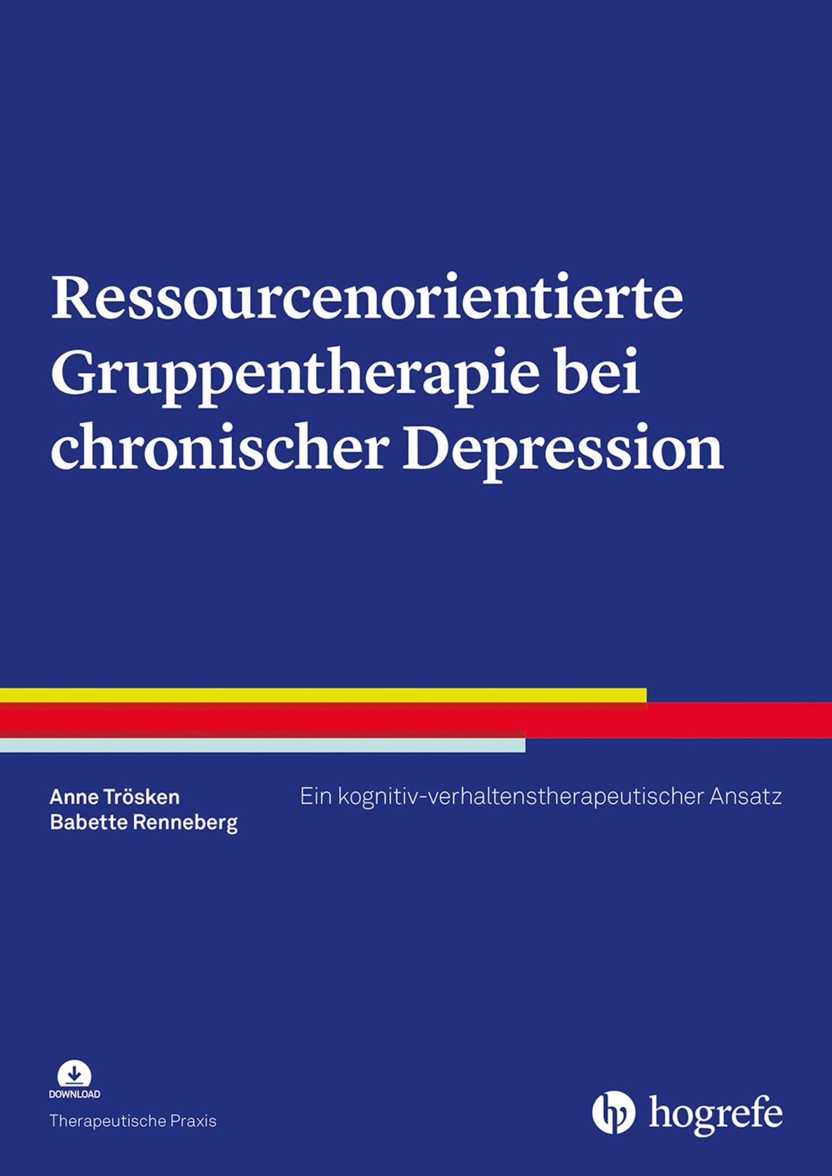 Ressourcenorientierte Gruppentherapie bei chronischer Depression