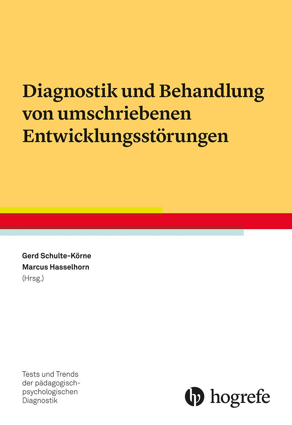 Diagnostik und Behandlung von umschriebenen Entwicklungsstörungen