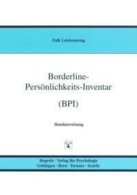 Borderline-Persönlichkeits-Inventar