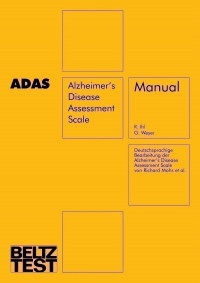 Alzheimer's Disease Assessment Scale