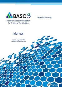 Behavior Assessment System for Children, Third Edition