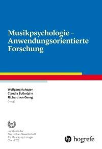 Musikpsychologie - Anwendungsorientierte Forschung