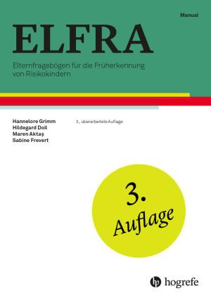 Test komplett bestehend aus: Manual, 10 Fragebogen ELFRA-1, 10 Fragebogen ELFRA-2, 10 Fragebogen ELFRA-2 (Kurzversion), 10 Auswertungsbogen ELFRA-1/ELFRA-2 und Mappe