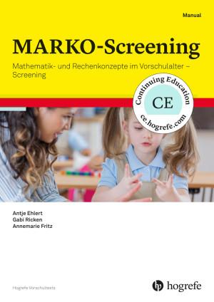 MARKO-Screening (HTS)*, Testkit inkl. 50 Nutzungen und Manual