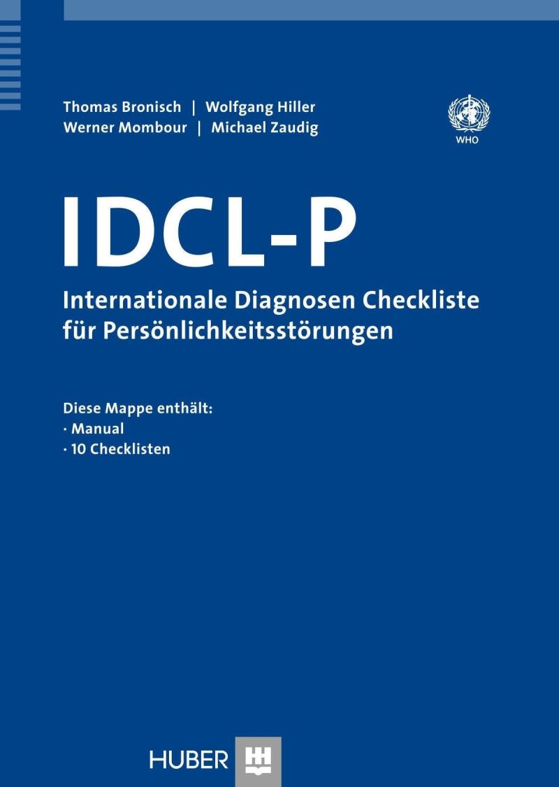 Test komplett für ICD-10 bestehend aus: Manual und 10 Checklisten