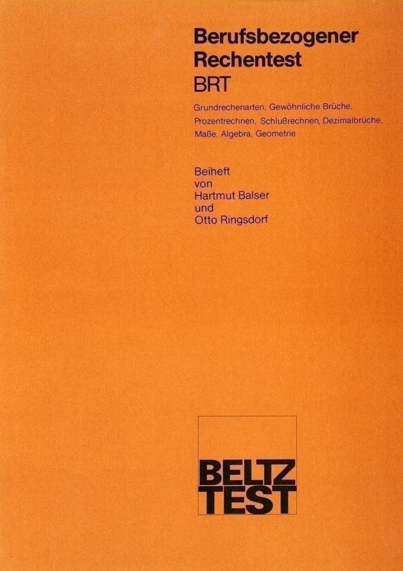 Mustermappe bestehend aus: Handanweisung, Muster-Testheft I + II und Muster-Testbogen-Kurzform