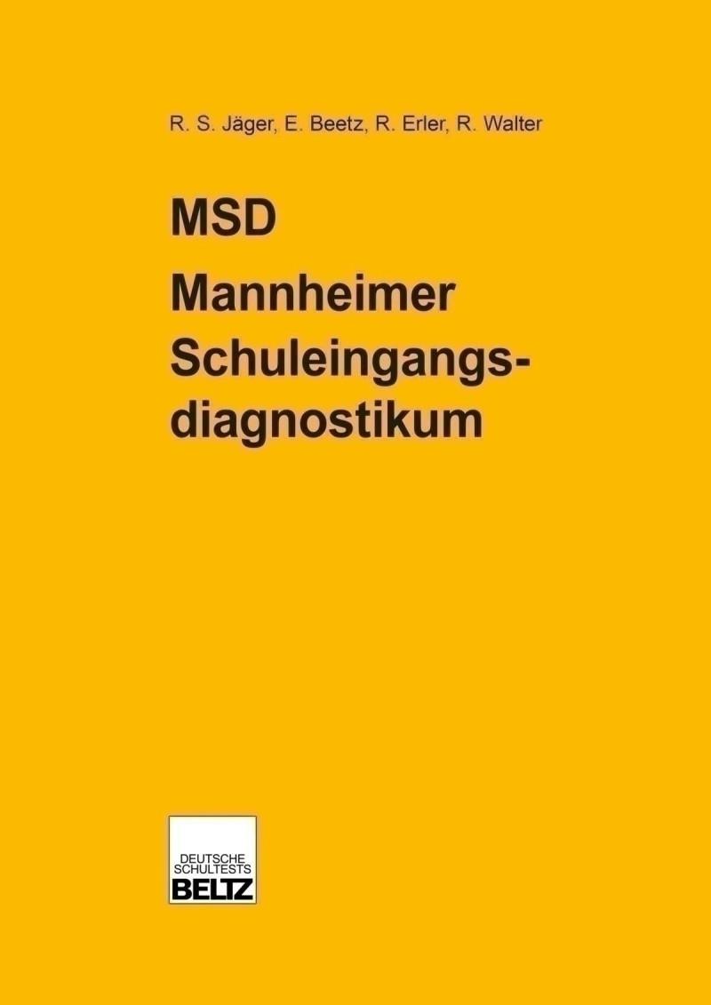 Mustermappe bestehend aus: Manual, Muster-Testheft mit Auswertungsbogen und Schablone «Konzentration»