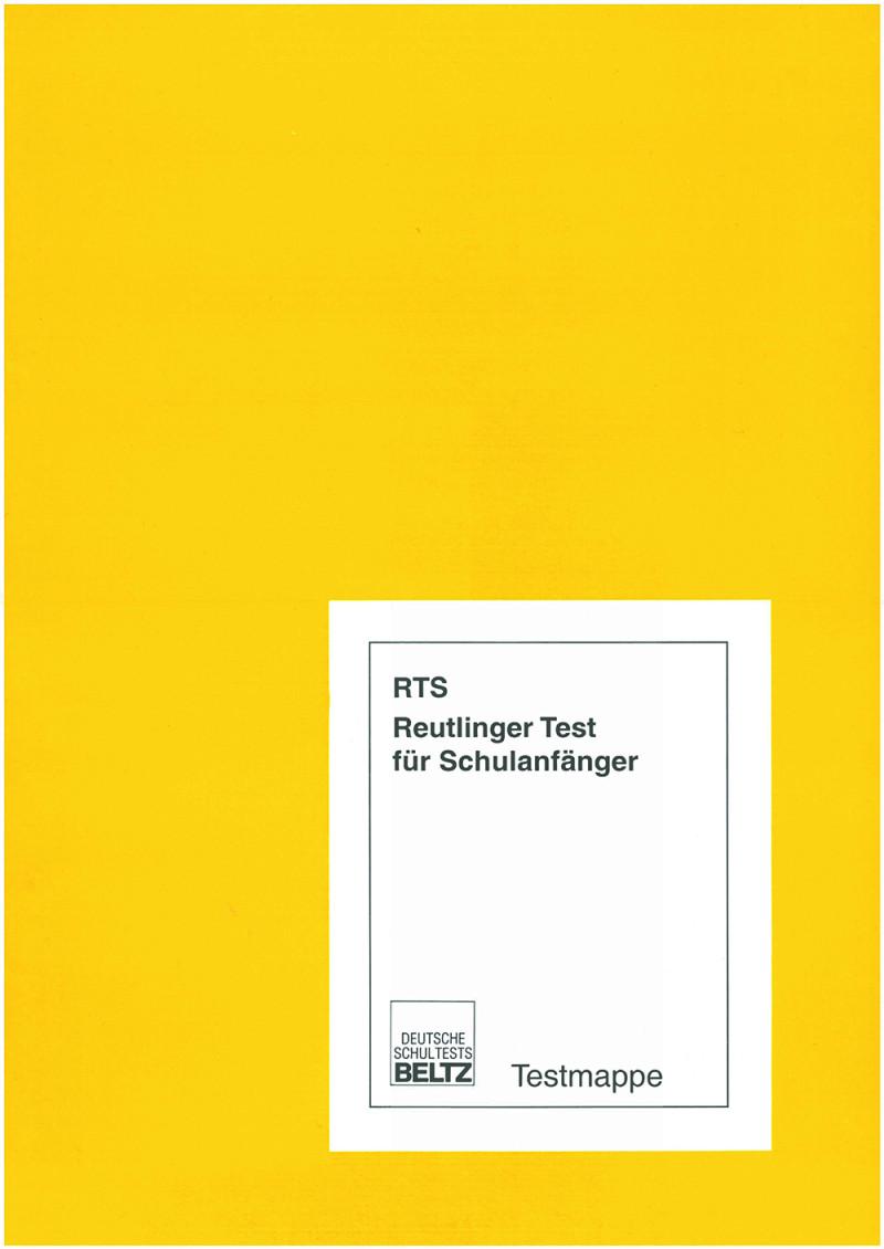 Mustermappe bestehend aus: Beiheft mit Anleitung und Normentabellen, Klassenliste und Muster-Testheft