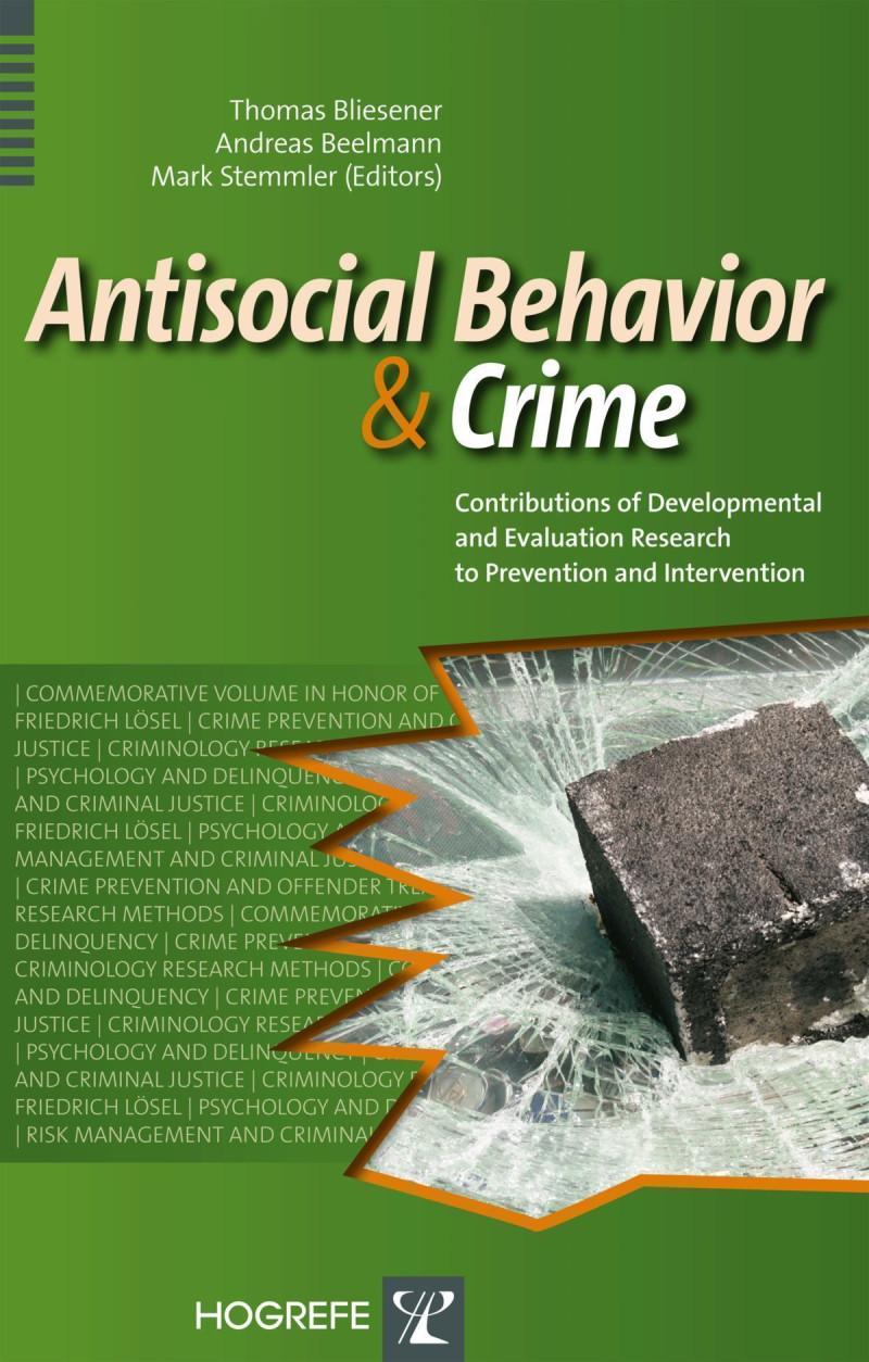 Antisocial Behavior and Crime