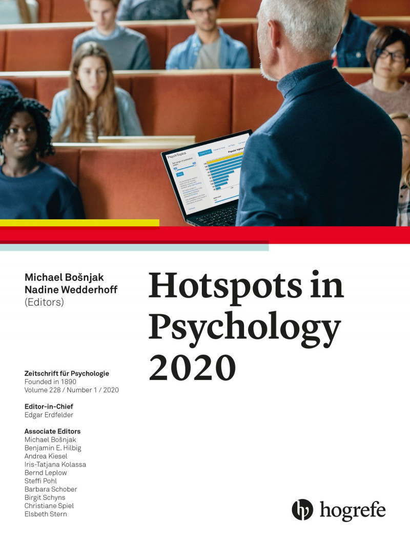 Hotspots in Psychology 2020