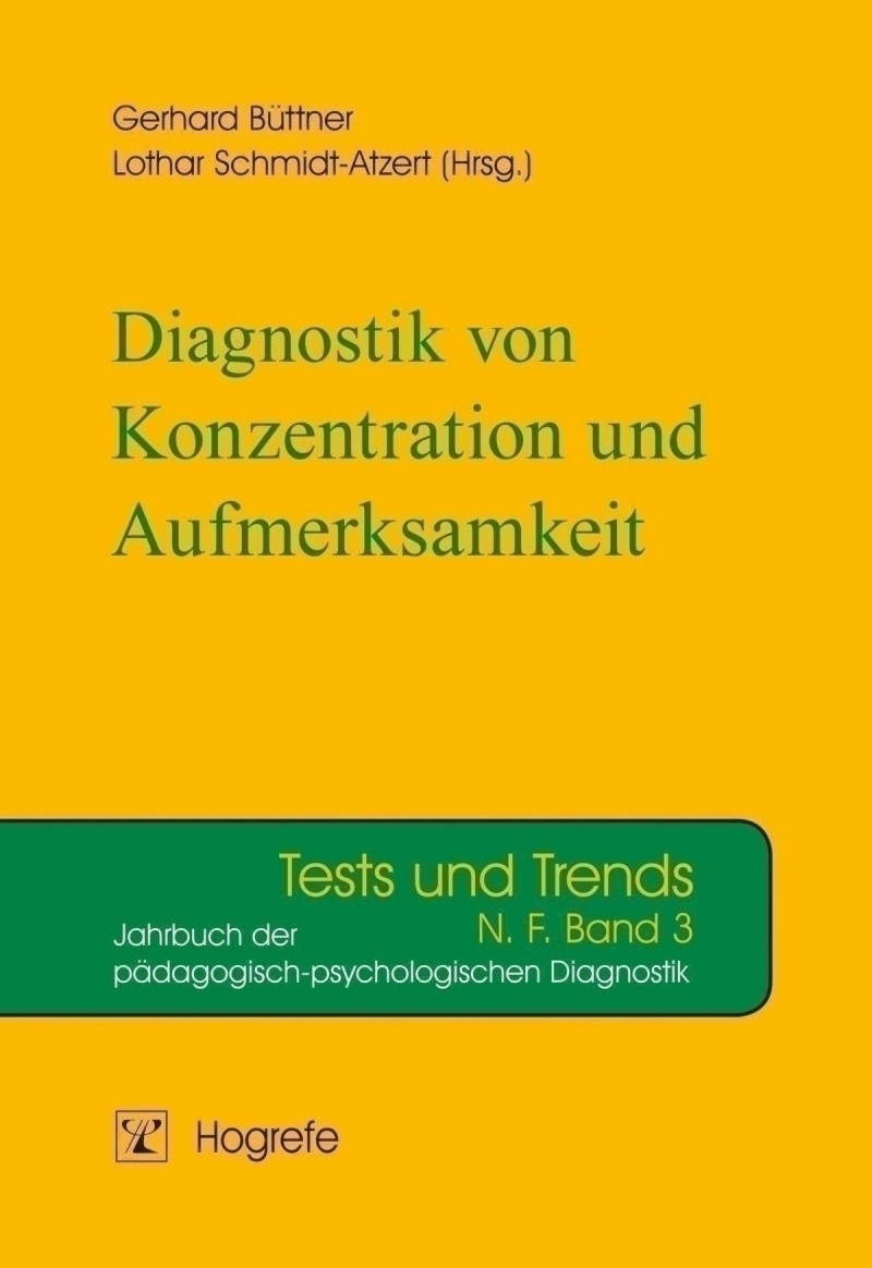Diagnostik von Konzentration und Aufmerksamkeit