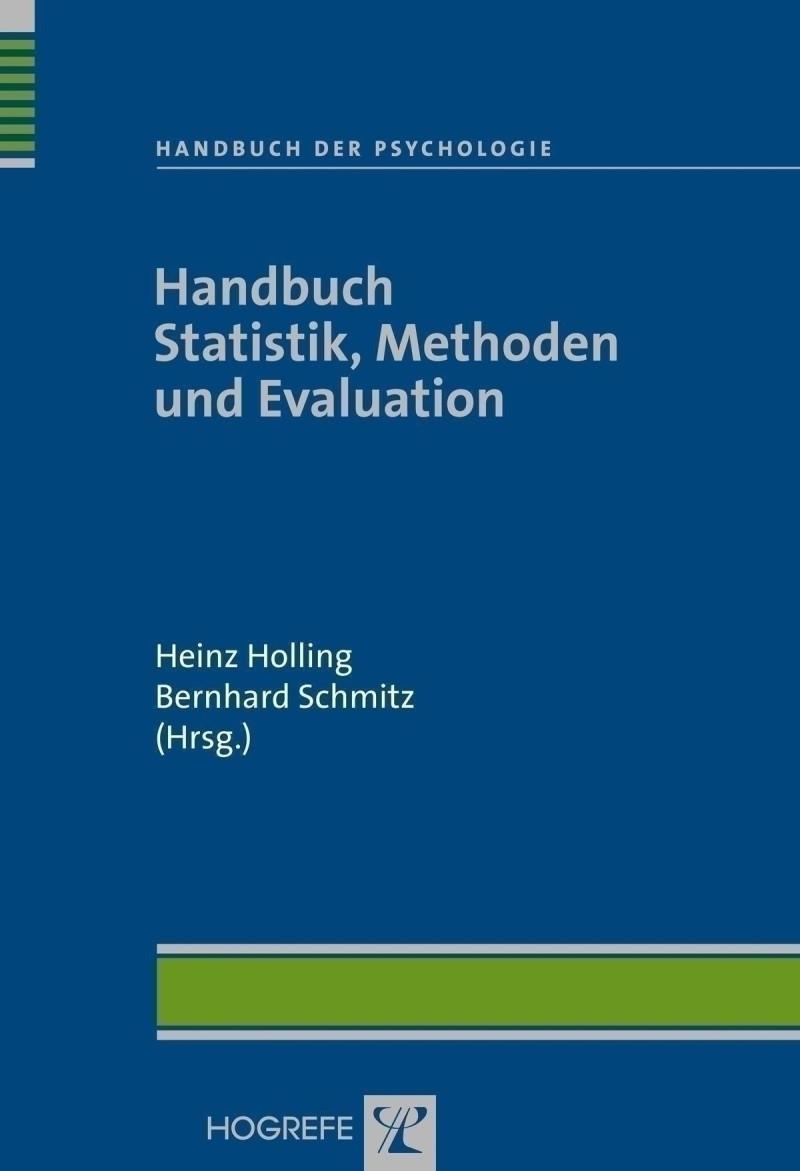 Handbuch Statistik, Methoden und Evaluation