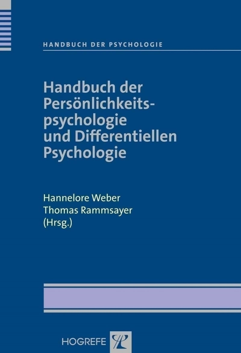 Handbuch der Persönlichkeitspsychologie und Differentiellen Psychologie