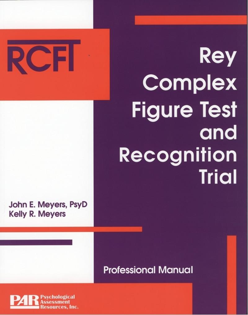 Rey Complex Figure Test and Recognition Trial komplet, amerikansk
