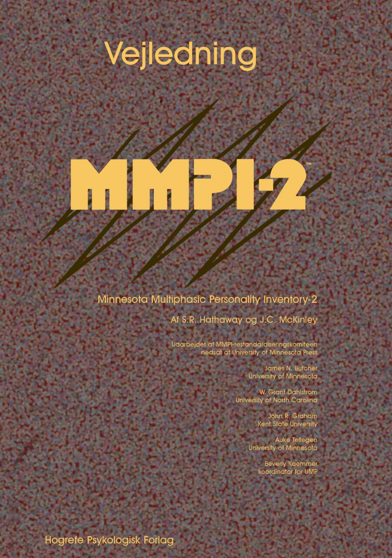 MMPI-2 komplet ekskl. scoringer