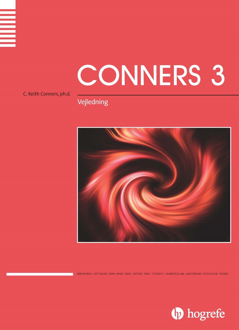 Conners 3 komplet
