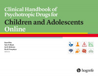 Clinical Handbook of Psychotropic Drugs for Children and Adolescents Online