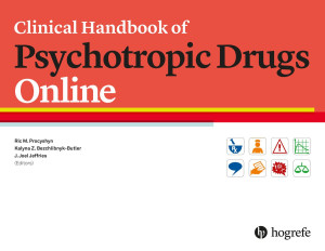 Clinical Handbook of Psychotropic Drugs Online